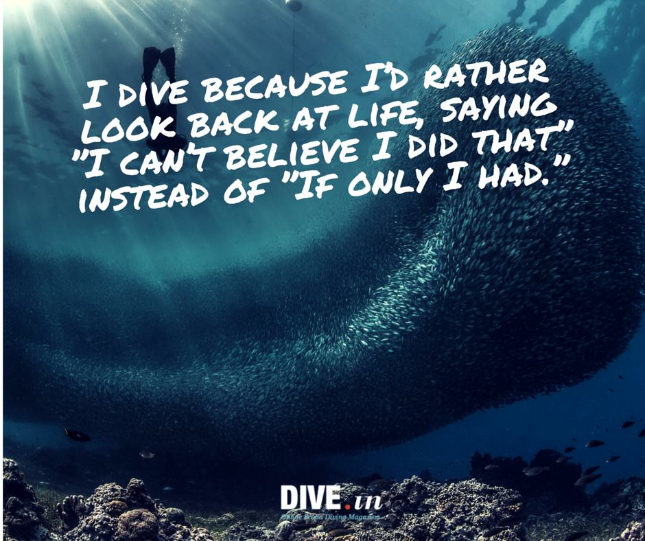 why i dive